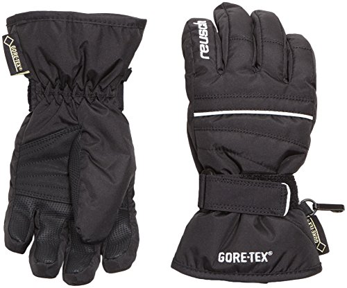 Reusch Kinder Handschuhe Kangra GTX Junior, Black/White, 4, 4599319