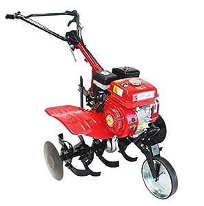 Motoaza de transmisión por correas com motor a gasolina 7hp, enviada lista para operar!
