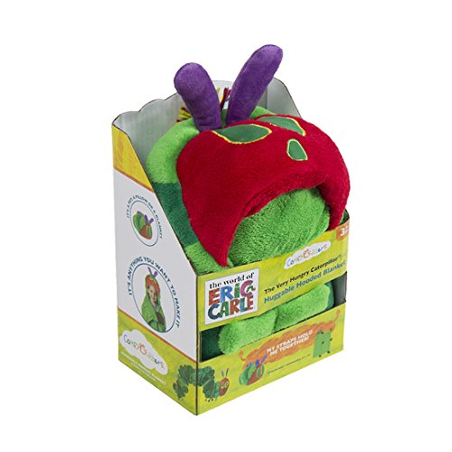 Comfy Critters Stuffed Animal Blanket – The World of Eric Carle, The Very Hungry Caterpillar – Kids huggable pillow and blanket perfect for pretend play, travel, nap time. by Comfy Critters (Image #1)