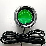 Iztor 2inchs 52mm 7-Color Digital LED 50 to 150 Degree Oil Temp Gauge For Car Vehicle Motor