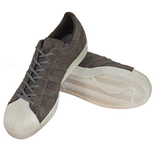 Adidas Sneaker Men Superstar 80S S75848 Braun, Schuhgröße:41 1/3