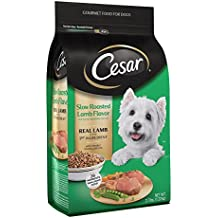 CESAR Slow Roasted Lamb Flavor With Spring Vegetables Garnish Dry Small Breed Dog Food 2.7 Pounds