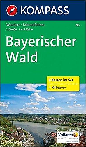 Bayerischer Wald Karte Kostenlos.Bayerischer Wald 1 50 000 Wandern Inkl Rad 3 Karten Im Set Und