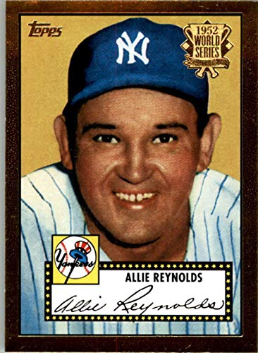 - 2002 Topps 1952 Reprints #52R9 Allie Reynolds - NM-MT