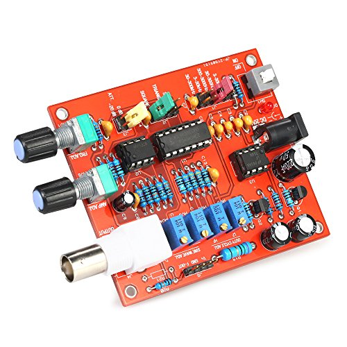 Generator FG8038(ICL8038), KKmoon Adjustable Signal Generator, High Precision Function Simulator Module DIY for Square/Triangle/Sine Wave Output 3Hz-300kHz Frequency Amplitude