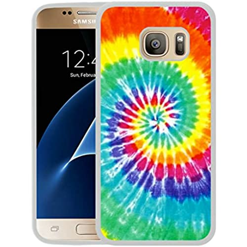Galaxy S7 Case,S7 Case,Tie Dye Case for Samsung Galaxy S7 - TPU White Sales