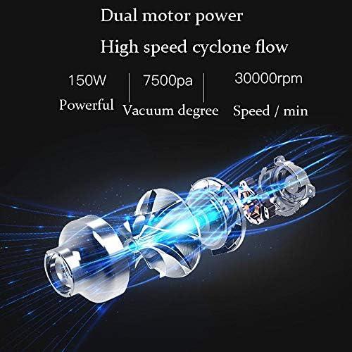 XIAOCUNAN Aspirateur sans Fil Aspirateur Portable pour véhicules domestiques Portables Aspirateur Multifonction 2 en 1