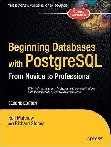 Beginning PostgreSQL 8
