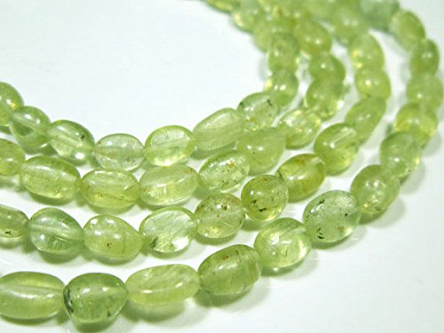 RARE AA Chryso Cats Eye Smooth Oval Beads Stones measure 17Strand 8-4mm