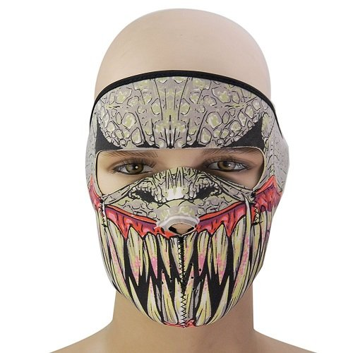 Breathable Neoprene Winter Ski Masks Full Face Mask for Biker Motorcycle Ski Snowboard Cycling (Homemade Halloween Football Costumes)
