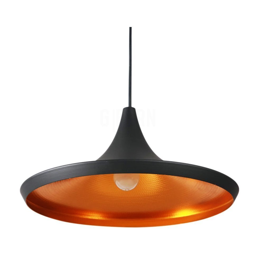 Reproduction of Tom Dixon Beat Shade Wide Pendant Lamp Light Black Decomust .