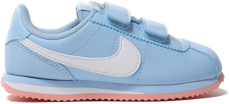 genéticamente cómo utilizar medida  Amazon.com: Nike Cortez Basic Sl (PSV) Ao2191-400 - Zapatillas para niños,  Azul: Shoes