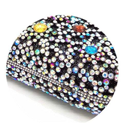Bolsa De Cristal De Diamante De La Tarde Del Bolso De La Cartera De Novia Bolsa De Novia De La Mujer OneColor