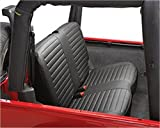 Bestop 29221-15 Black Denim Rear Bench Seat Cover for  1997-2002 Wrangler