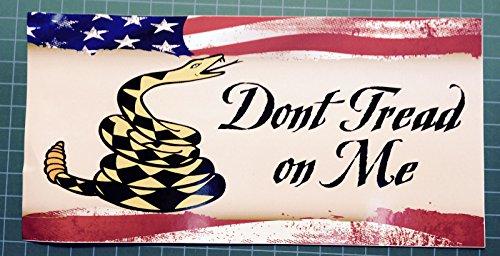 Don't Tread on Me - Bumper Sticker - USMC - USA
