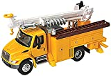 Walthers SceneMaster International 4300 Utility Truck with Drill, Yellow