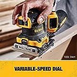 DEWALT 20V MAX XR Palm Sander, Sheet, Variable