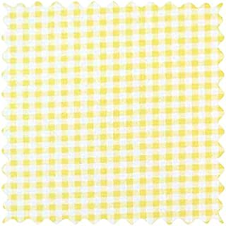 product image for SheetWorld Yellow Gingham Jersey Fabric - By The Yard