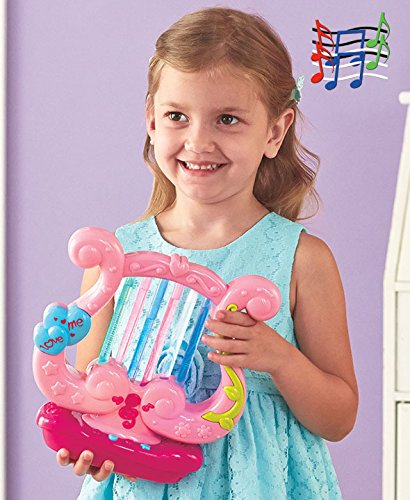 Twinkle Twinkle Musical Lighted Magical Harp Instrument for Kids