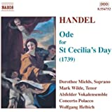 Ode for St Cecilia's Day