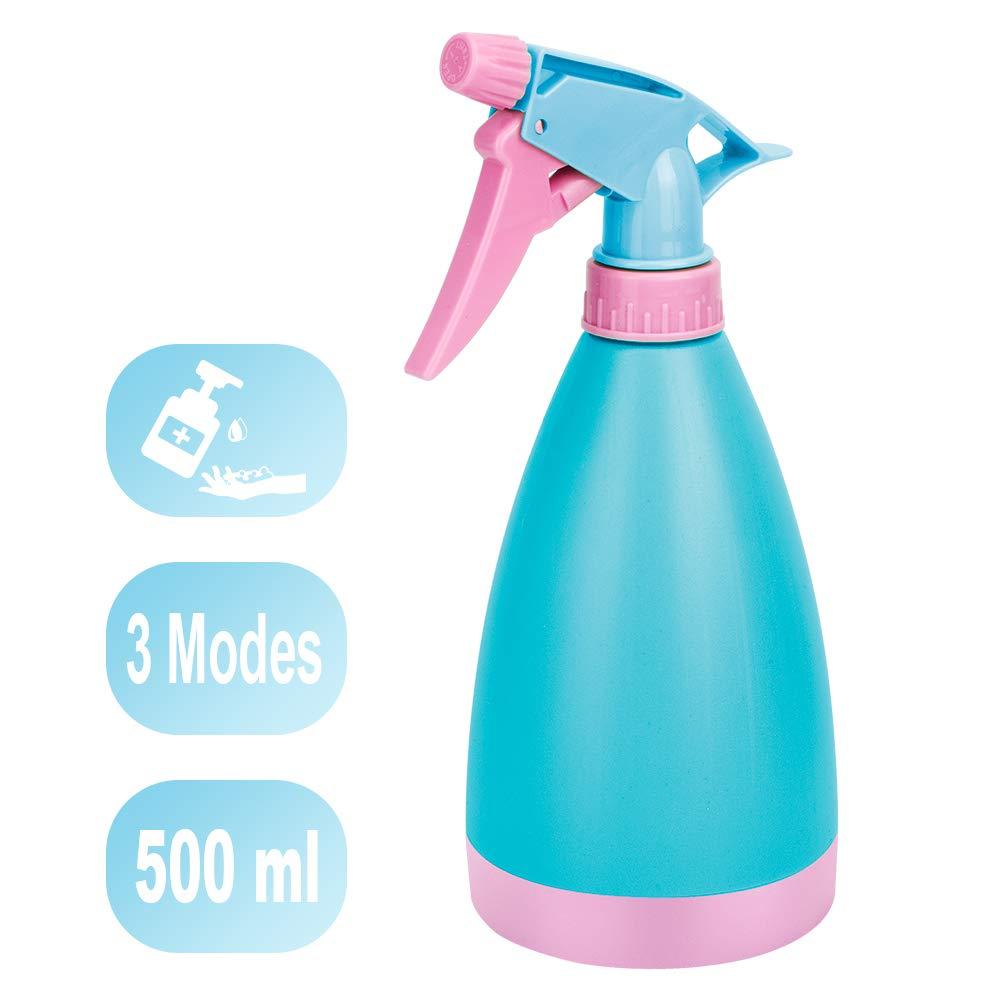 Botella Spray Pulverizador para Alcohol,Botella de Spray Gigante de 500 ml,Botellas de Spray para Limpiar