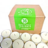 American Soy Tealights (6-7 hour burn time) (36)