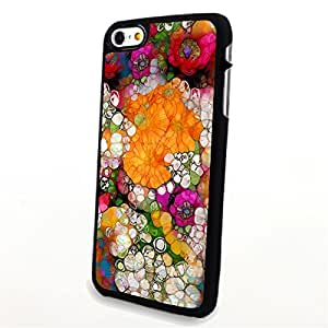 Generic Phone Accessories Matte Hard Plastic Phone Cases Flower Daisy fit for Iphone 6