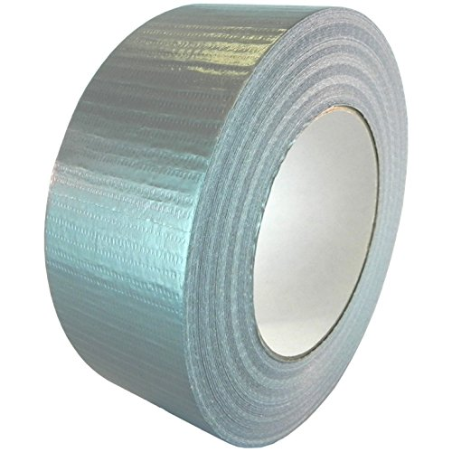 T.R.U. Utility Grade Cloth Duct Tape. 60 Yd. Lenght. (Silver (Gray)) (Utility Grade Cloth)