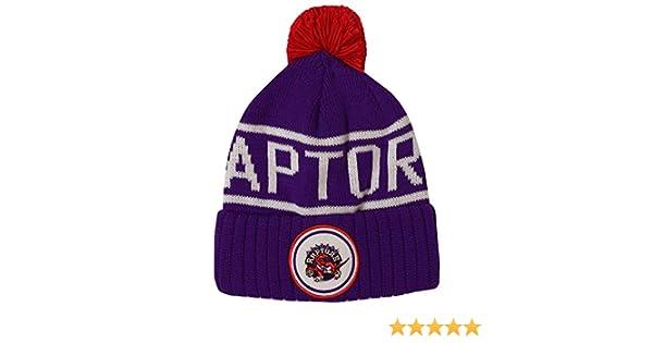 new product 324b0 f48d5 Amazon.com   Mitchell   Ness Toronto Raptors Glow in The Dark Knit Hat    Sports   Outdoors