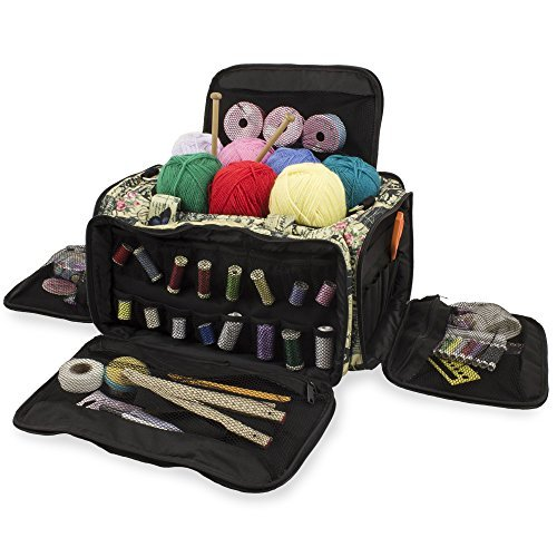 Knitting Bag, Sewing Accessories And Craft