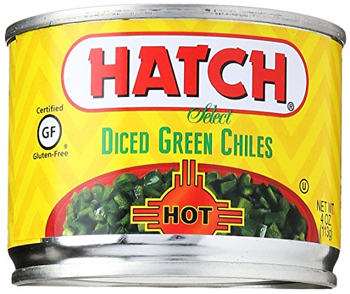 Hatch Chili Hot Diced Green Chiles, 4 oz