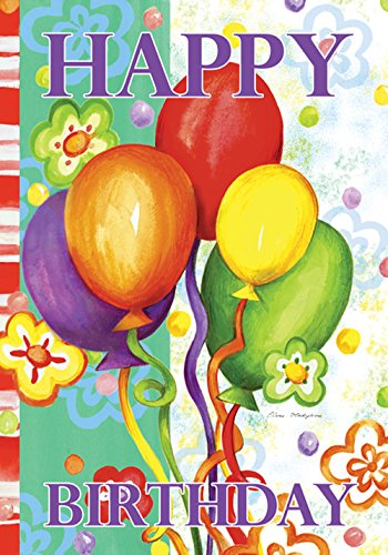 Toland Home Garden Birthday Bash 12.5 x 18 Inch Decorative C