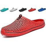 Nishiguang Unisex Quick Drying Anti-Slip Garden Beach Shoes for Men and Women red36