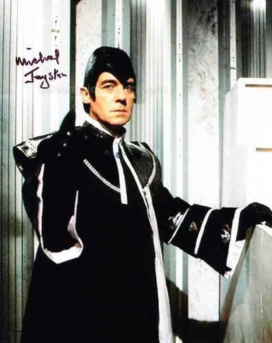 MICHAEL JAYSTON as The Valeyard - Doctor Who Genuine Autograph from Celebrity Ink