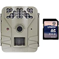 Moultrie Game Spy 2 Plus 9MP Low Glow Infrared Game Trail Camera + 8GB SD Card