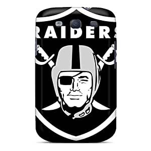 New Shockproof Protection Case Cover For Galaxy S3/ Oakland Raiders Logo Nfl Case Cover
