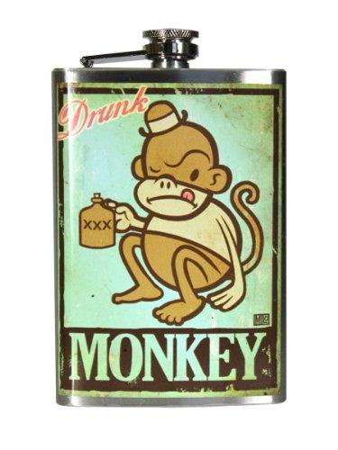 Trixie & Milo Drunk Monkey Steel Hip (Drunk Monkey)