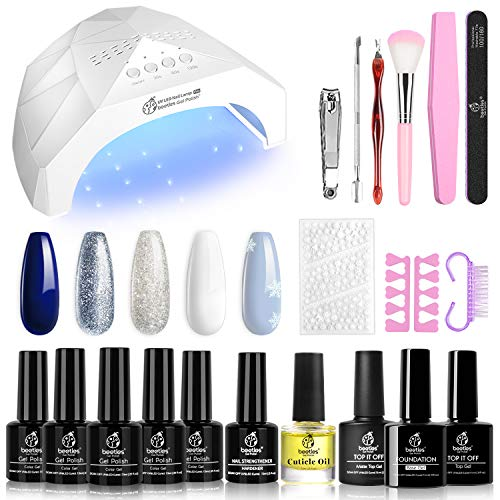 Uvled Nail Lamp Starter Kit Manicure