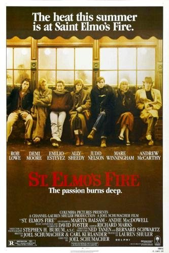St Elmos Fire Movie Poster 24in x36in