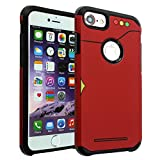 iPhone 8 Case, DURARMOR Pokedex Dual Layer Hybrid Shockproof Ultra Slim Fit Armor Air Cushion Defender Protector Cover for iPhone 8 Pokedex