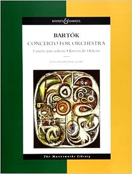バルトーク: 管弦楽のための協奏曲/ブージー & ホークス社/大型スコア