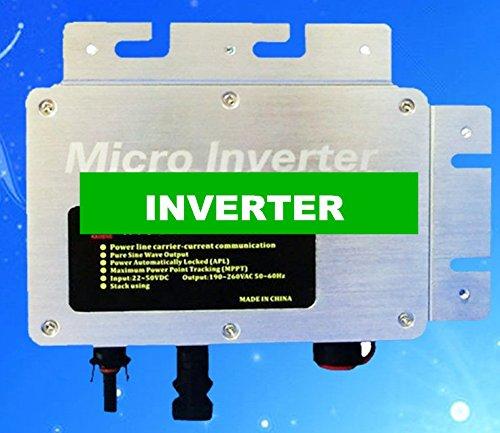 Gowe 260W IP 65Wasserdicht Micro Solar Grid gebunden Wechselrichter Input DC 22Gleichspannungswandler, Ausgang AC 120V, 230V