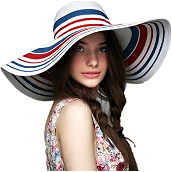 Women's Sun Hats,travel hat sunbathing sunbathing hat UV Bohemia hat (visor Ladies)