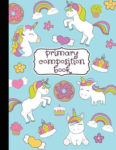 Primary Composition Book: Primary Composition Notebook K-2, Kindergarten