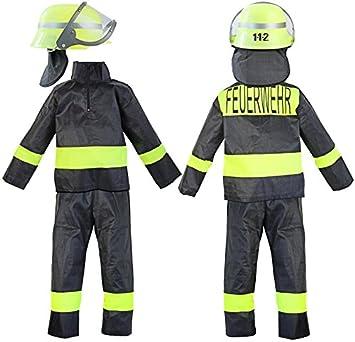 Kinder-Kostüm Feuerwehr-mann Kostüm Gr. 10 128-134 Feuerwehr-Kostüm ...