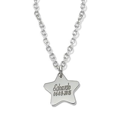 54af1af07ca1 Collar con colgante estrella