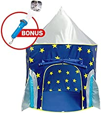 Rocket Ship Play Tent - Spaceship Playhouse for Kids with Bonus Space Torch Projector Toy u2013 Spaceu2026  sc 1 st  TVStuffReviews & Twinkle Play Tents Reviews - Too Good to be True?