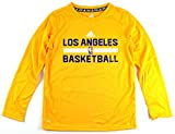 Los Angeles Lakers NBA Youth Climalite Practice Long Sleeve Shirt (Youth Small 8)