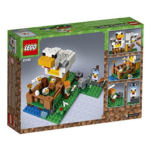 51wk8NzzTHL - LEGO Minecraft The Chicken Coop 21140 Building Kit (198 Pieces)