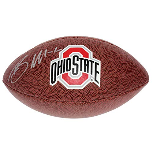 Braxton Miller Autographed Signed Ohio State Buckeyes Wilson Logo Football - Certified Authentic ()